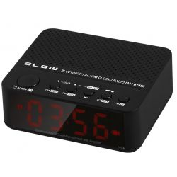 Głośnik przenośny, bluetooth BT400 z zegarem oraz radiem FM, BLOW