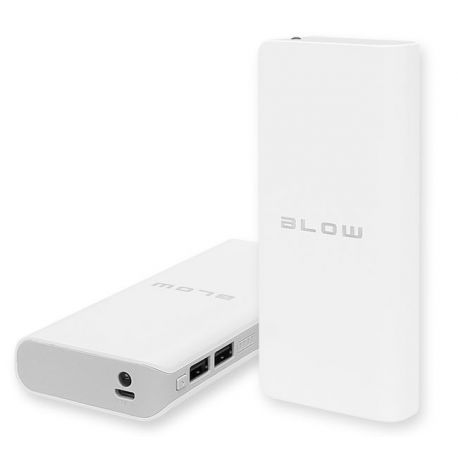 BLOW Power Bank 20000mAh 2xUSB PB15 BIAŁY bateria awaryjna