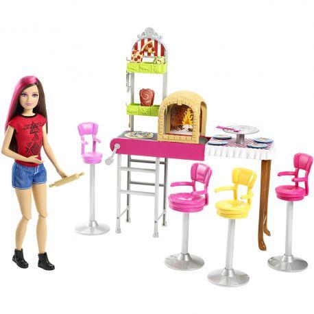 Barbie Siostra Barbie Skipper w pizzeri CGF37