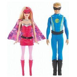 Zestaw lalek Barbie Super Księżniczka + Ken CHG37