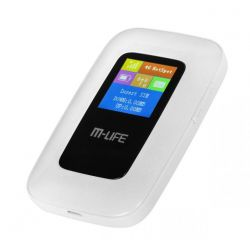 MODEM przenośny ML0674 - MiFi router 4G LTE, M-LIFE