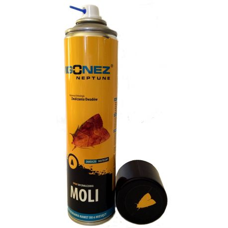 VIGONEZ Spray na mole spożywcze i odzieżowe, zwalczanie moli, 400ml