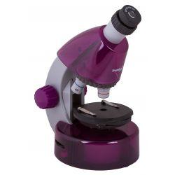 Mikroskop Levenhuk LabZZ M101 w kolorze Amethyst/Ametyst + Prezent