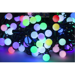 VIPOW Lampki choinkowe LED multikolor z kontrolerem kolorów - 10m