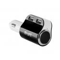 Ładowarka samochodowa M-life 2x USB 4.1A + gniazdo zapalniczki