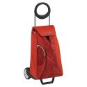 GIMI Market Queen czerwony - profesjonalny wózek na zakupy
