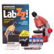 Mikroskop Levenhuk LabZZ M101 w kolorze Orange/Pomarańcza + Prezent