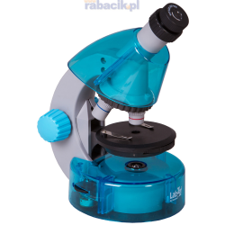 Mikroskop Levenhuk LabZZ M101 w kolorze Azure / Lazur + Prezent
