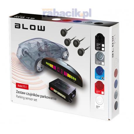 Samochodowy czujnik cofania, parktronic, niebieski BLOW PS-1 22mm
