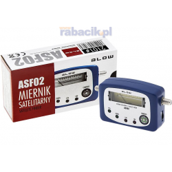 Miernik satelitarny SAT-FINDER ASF02 BLOW