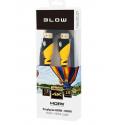 Kabel przyłącze HDMI-HDMI YELLOW proste 1,5m 4K Ultra HD BLOW