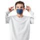 BANALE Maska przeciwpyłowa, antysmogowa, PM 2,5 PM10 - szaro-różowa