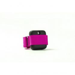BANALE HANDS - czarno-czerwony aplikator ze środkiem dezynfekującym ręce