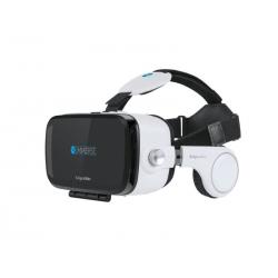 Gogle VR Kruger&Matz IMMERSE ze słuchawkami i pilotem KM0207