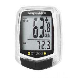 Edytuj: Licznik rowerowy prędkość, temepratura, odległość Kruger&Matz XT 200 KM0075