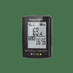 Licznik rowerowy Kruger&Matz XT 300 z GPS i pasem telemetrycznym