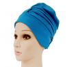 Fashy Czepek kąpielowy na długie włosy - błękitny