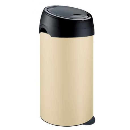 Meliconi kosz na śmieci SOFT Touch - 60l kremowy