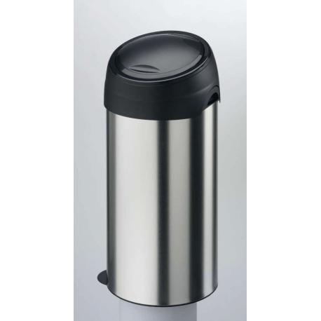 Meliconi kosz na śmieci SOFT Touch - 60l stal szczotkowana