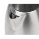 TEESA Czajnik elektryczny bezprzewodowy szczotkowana stal nierdzewna z białymi detalami1,7l TSA1520W