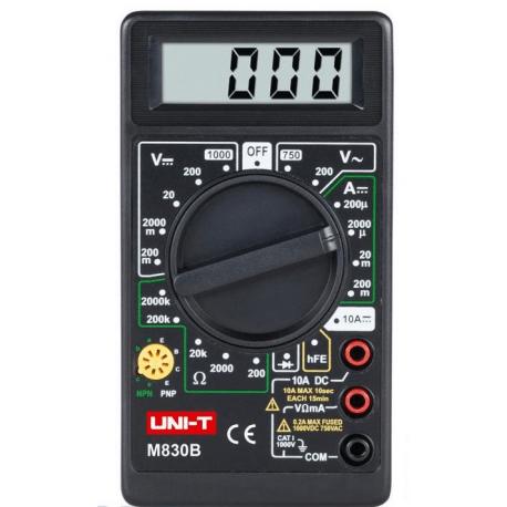 Miernik uniwersalny UNI-T M830B MIE0002
