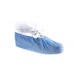 FASHY Ochraniacz foliowy na buty niebieski - 10par
