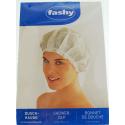 FASHY Czepek foliowy kąpielowy, pod prysznic, różowy