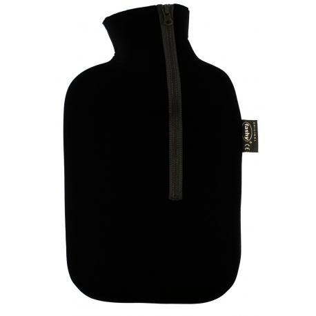Fashy Termofor 2l w osłonie z neoprenu w kolorze czarnym