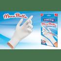 WALKING ManoBella rękawice antybakteryjne, białe, rozmiar uniwersalny
