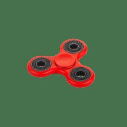 SPINNER by Quer hand fidget w kolorze czerwonym