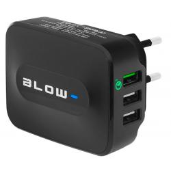 BLOW Ładowarka sieciowa z gniazdem USBx3 Qualcomm 3.0