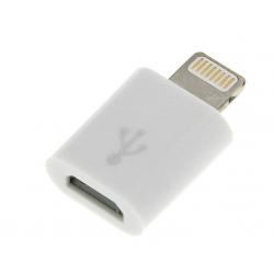 BLOW Adapter iPhone 5/6/7 wtyk Lightning 8 pin - gniazdo micro USB B