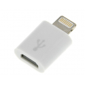 BLOW Adapter iPhone 5/6/7 wtyk Lightning 8 pin - gniazdo micro USB B