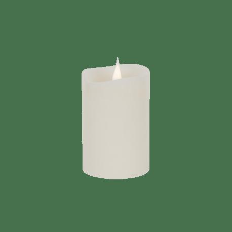 Świeca woskowa LED ivory mała z ruchomym płomykiem, LED0200