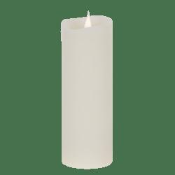 Świeca woskowa LED ivory duża z ruchomym płomykiem, LED0200-2
