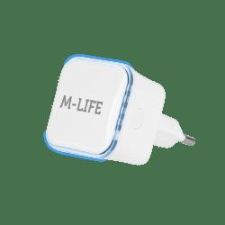 M-LIFE WZMACNIACZ sygnału Wi-Fi Repeater ML0705