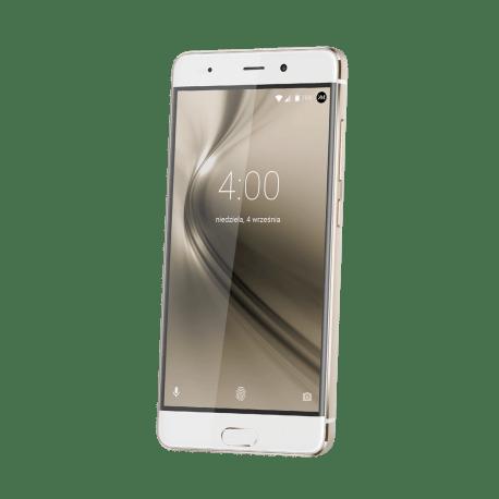 Kruger&Matz Smartfon LIVE 4 KM0437 GOLD, LTE, czytnik linii, dual SIM