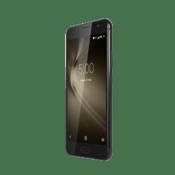 Kruger&Matz Smartfon LIVE 5+ KM0448-B,Czarny, LTE, dual SIM, czytnik linii