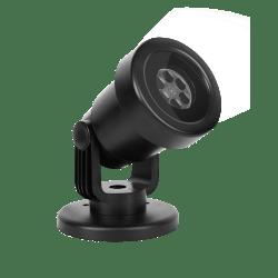 Projektor LED jednokorowy spadające śnieżynki, na zewnątrz lub do wnętrz VIPOW ZAR0441