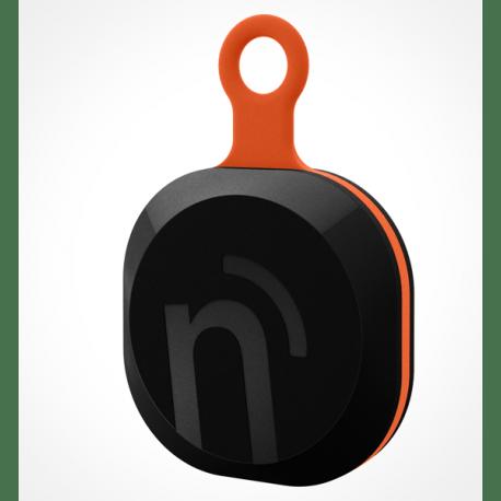 notiOne brelok czarno-pomarańczowy, uniwersalny mobilny lokalizator