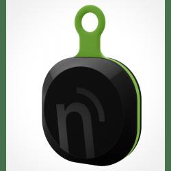 notiOne brelok czarno-zielony, uniwersalny mobilny lokalizator