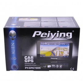 Nawigacja satelitarna Peiying PY-GPS7005 (Bt, Internet, transmiter FM) bez mapy