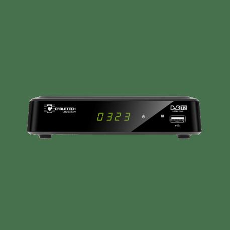 Tuner cyfrowy DVB-T2 HD do telewizji naziemnej Cabletech, URZ0323M