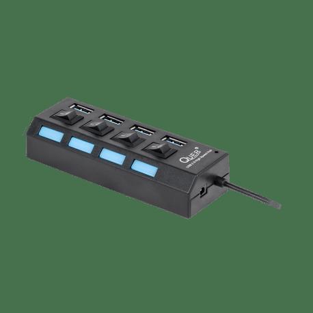 QUER PRO HUB USB 3.0 4 portowy