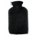 Fashy Termofor ok. 2l w czarnym sweterku