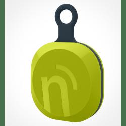 notiOne brelok zielony, uniwersalny mobilny lokalizator + pudełko prezentowe
